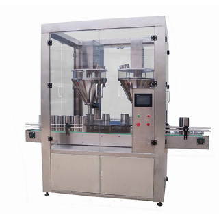 High Precision Rotated Double Head Filling Weighing Machine