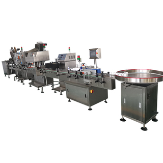 Automatic Tablet/Capsule Counting Bottling Production Line