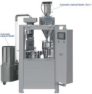 GMP ISO Ce质量低价全自动胶囊灌装机(NJP-1200C)