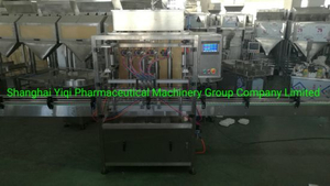 Automatic Peanut Butter Filling Dosing Sealing Vacuum Capping Labeling Packing Line