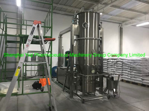100 Kg Capacity Pharmaceutical Granulating Drying Machinery