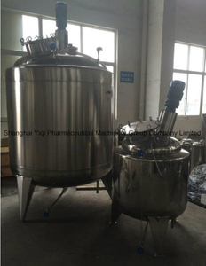 Stainless Steel Mixing Tank Reactor Ss304 1500L