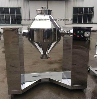 带200kg容量粉末混合器的不锈钢搅拌机